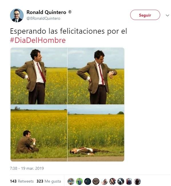 Día del Hombre memes